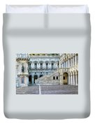 Courtyard At The Doge Palace Duvet Cover
