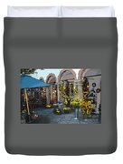 Courtyard Shop Duvet Cover