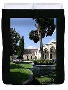 Courtyard Topkapi Palace - Istanbul Duvet Cover