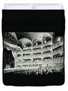 Covent Garden Theatre, 1795 Duvet Cover