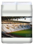 Coventry City - Highfield Road - East Stand Swan Lane 3 - October 1994 Duvet Cover