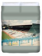 Coventry City - Highfield Road - North Side Thackhall Street Stand 3 - August 1991 Duvet Cover