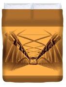 Covered Bridge 3 Duvet Cover