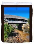 Covered Bridge Duvet Cover