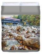 Covered Bridge Duvet Cover