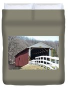 Covered Bridge Pa Duvet Cover