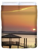 Covered Dock Duvet Cover