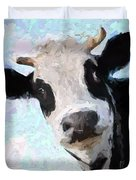 Cow Head Duvet Cover