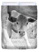 Cow Milk Duvet Cover