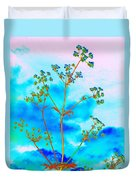 Cow Parsley Blossom 2 Duvet Cover