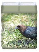 Cowbird Duvet Cover