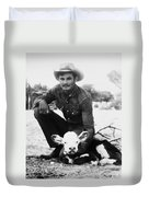 Cowboy, 20th Century Duvet Cover