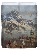 Cowboy Cathedral Duvet Cover