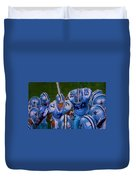 Cowboy Huddle Duvet Cover