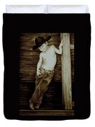 Cowboy Duvet Cover