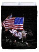 Cowboy Patriots Duvet Cover