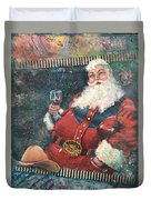 Cowboy Santa Duvet Cover