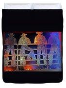 Cowboys 1 Duvet Cover
