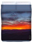 Cowee Sunset Duvet Cover