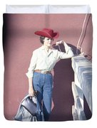 Cowgirl Mama Duvet Cover