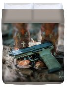Cowgirl Shabby Chic Duvet Cover