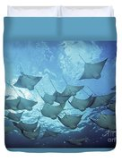 Cownose Rays Duvet Cover
