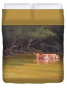 Cows Just Wanna Have Fun Duvet Cover