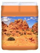 Coyote Buttes Pastel Landscape Duvet Cover