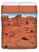 Coyote Buttes Pink Landscape Duvet Cover