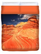 Coyote Buttes Sandstone Towers Duvet Cover