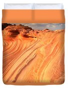 Coyote Buttes Sunset Glow Duvet Cover