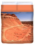 Coyote Buttes Swirling Sandstone Duvet Cover