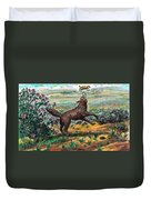 Coyote Joy Duvet Cover