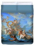 Coypel's The Abduction Of Europa Duvet Cover