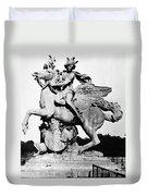 Coysevox: Mercury & Pegasus Duvet Cover