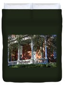 Cozy Savannah Porch Duvet Cover