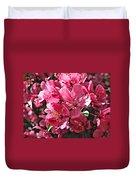 Crab Apple Blossoms 04302015-1 Duvet Cover