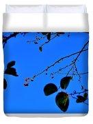 Crab Apples Blue Sky 6510 Duvet Cover