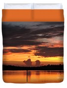 Crab Claw Skyline Duvet Cover