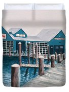 Crab Deck Duvet Cover
