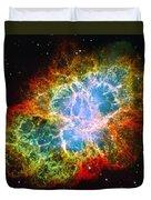 Crab Nebula Duvet Cover