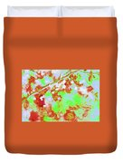 Crabapples Series #4 23 Duvet Cover