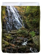Crabtree Falls In Autumn Duvet Cover