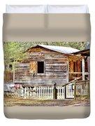 Cracker Cabin Duvet Cover