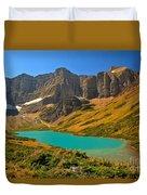 Cracker Lake Valley Duvet Cover