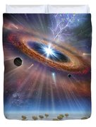 Cradle Of Life Duvet Cover