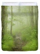 Craggy Gardens Trail Duvet Cover