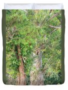 Craggy Tree For Will Duvet Cover