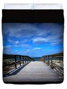 Crane Beach Duvet Cover