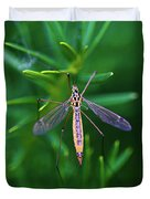 Crane Fly Duvet Cover